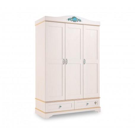 Flora 3 dörrar garderob