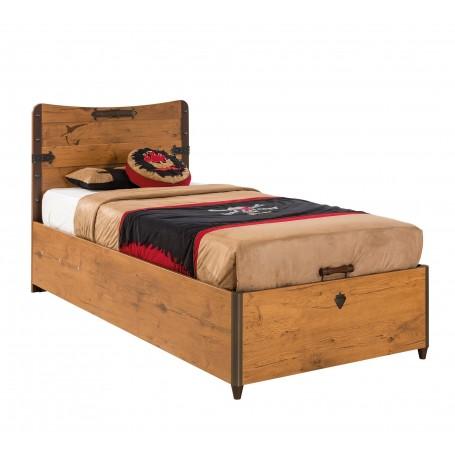Pirat säng med förvaring (90x190 Cm)