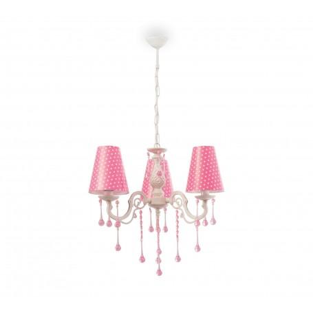 Dotty taklampa (rosa)