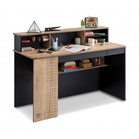 Black stor skrivbord