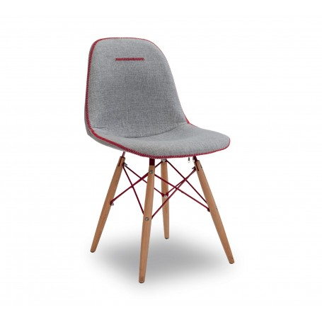 Quatro stol (grå)