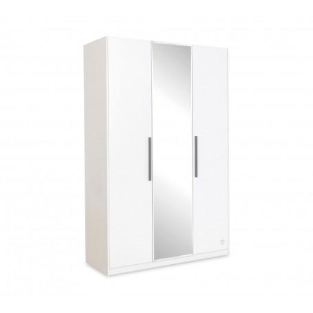 White 3 dörrar garderob