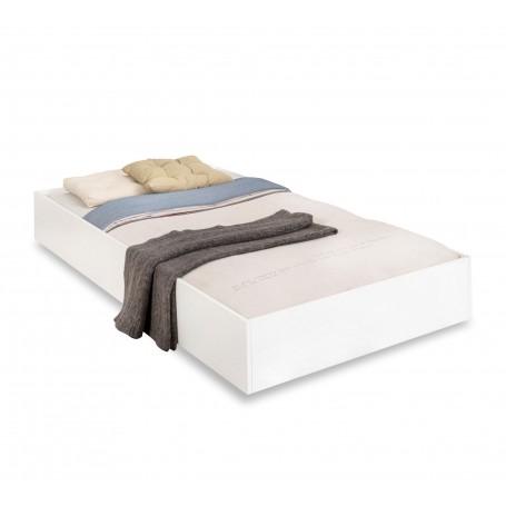 White sänglådor (90x190 Cm)