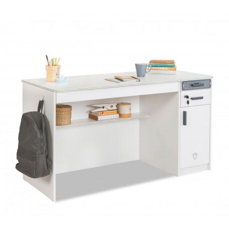 White stor skrivbord