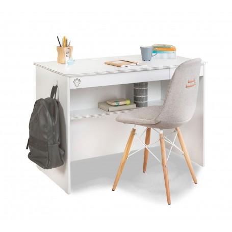 White skrivbord